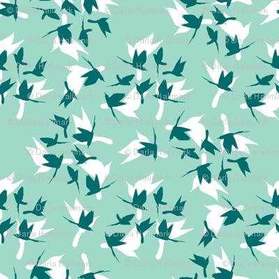 flocks of little birds
