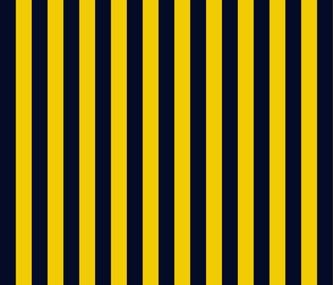 fdl2010 navy-gold 1 inch stripe coordinate fabric by glimmericks on Spoonflower - custom fabric