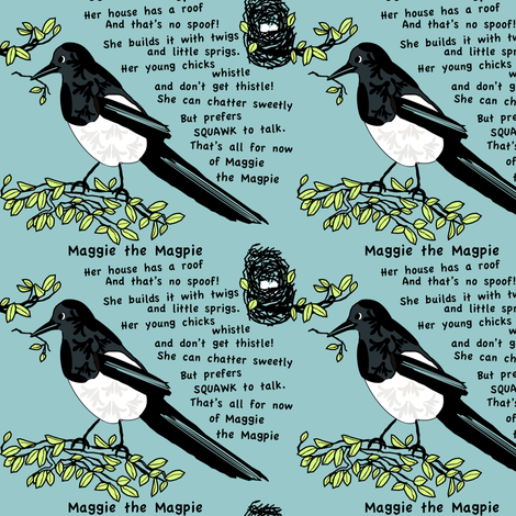 Maggie fabric by petals_fair_(peggy_brown) on Spoonflower - custom fabric