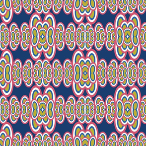 Groovy Iguana - Pastel Background
