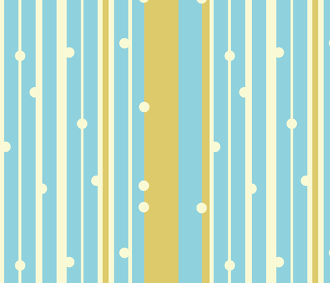 Dot Stripes fabric by gsonge on Spoonflower - custom fabric