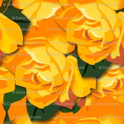 """orange honey"", smaller version"