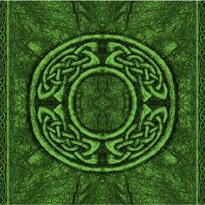Ancient Celtic Circle Green