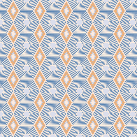 Blended Diamond 1 fabric by kezia on Spoonflower - custom fabric