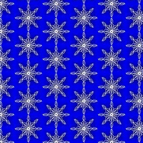 Midnight Snow Dotty Flakes Royal