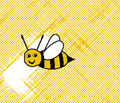 Rrrall_about_the_birds_and_the_bees_-_restricted_colours__-_spoonflower_yellow_comment_96830_thumb