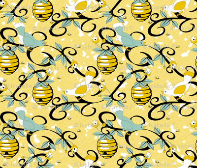 All About the Birds and the Bees - Yellow