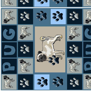 Pug Wall Hanging