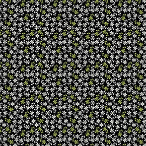 Hexy Flower (black)
