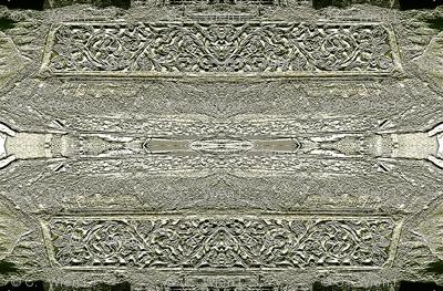 Grey Carved Stone 1500
