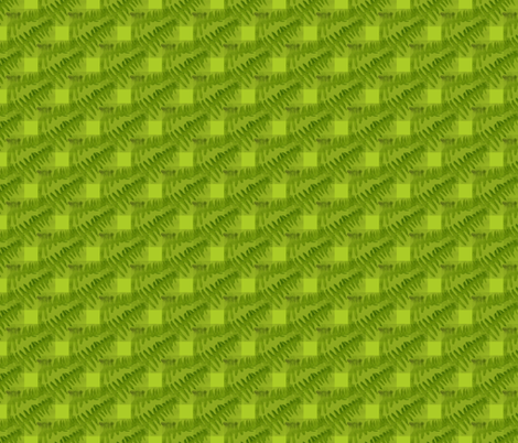 Gingham Fern fabric by donna_kallner on Spoonflower - custom fabric
