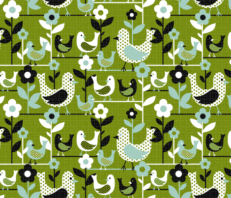 Tweety Tweet fabric by collectivesurfacellc on Spoonflower - custom fabric