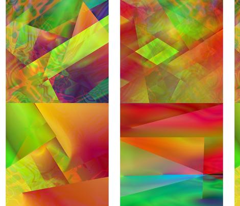 Squares fabric by itsnaart_fabrics on Spoonflower - custom fabric
