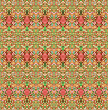 A Very Forties Summer fabric by edsel2084 on Spoonflower - custom fabric