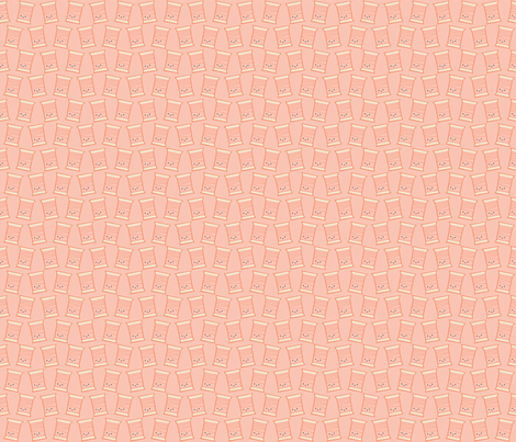 Craftiness! Orange Thread fabric by wildolive on Spoonflower - custom fabric