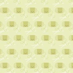 Craftiness! Green Yarn