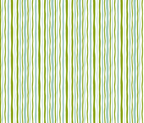 Egret Stripes fabric by fussypants on Spoonflower - custom fabric