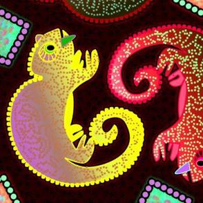 Colorful Chameleons