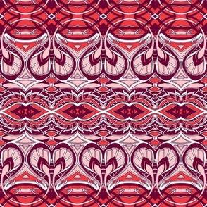 Swirlique Nouveau (red)