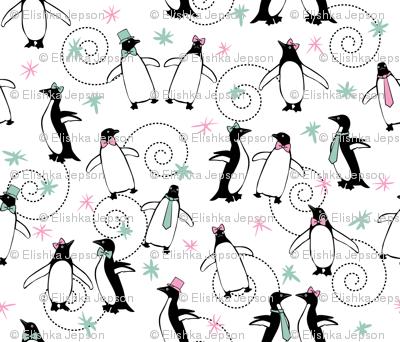 Penguins Puttin' On The Ritz