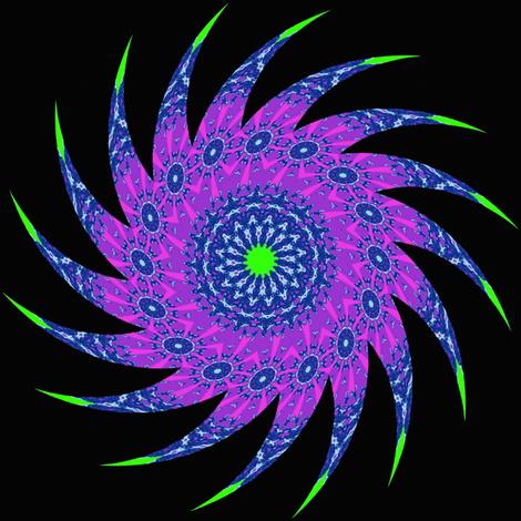 Star Swirl fabric by dovetail_designs on Spoonflower - custom fabric