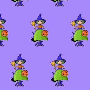 Little Witch purple