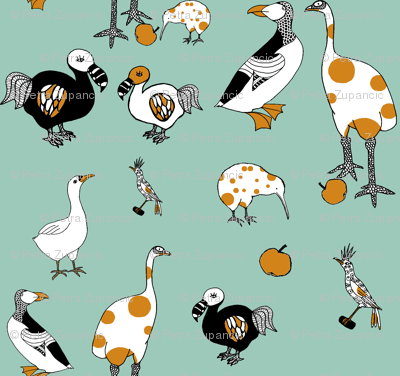 Extinct birds!