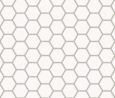 Cerberus Hexagons fabric by ggi on Spoonflower - custom fabric