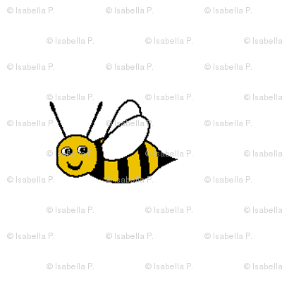 Bee Happy - White