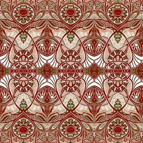 Victorian Gothic (blood/gold negative)