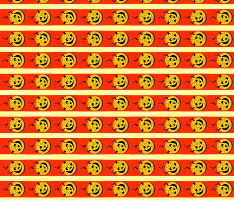 Roly Poly Jack o' Lantern fabric by robin_rice on Spoonflower - custom fabric