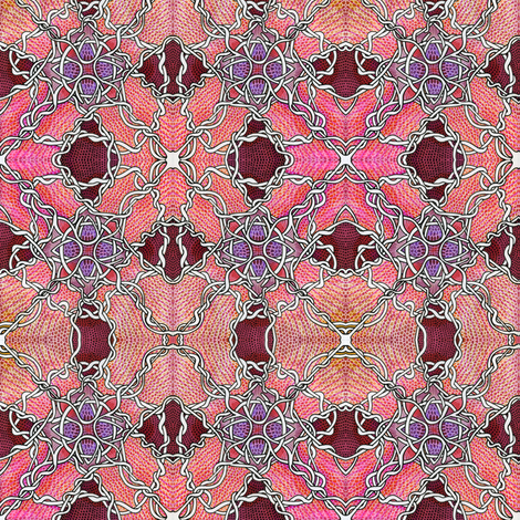 Barbed Wire Tango fabric by edsel2084 on Spoonflower - custom fabric