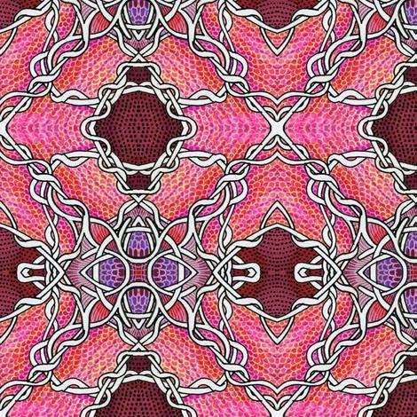 Locked Up Diamonds fabric by edsel2084 on Spoonflower - custom fabric