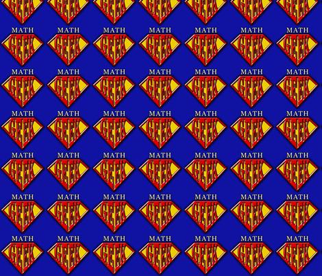 math_geek_logo fabric by shellbug on Spoonflower - custom fabric