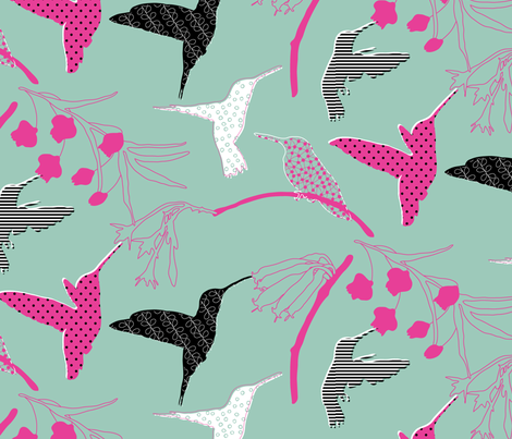 Fancy flight fabric by zoebrench on Spoonflower - custom fabric