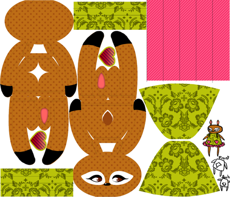 Dear Deery fabric by jadegordon on Spoonflower - custom fabric