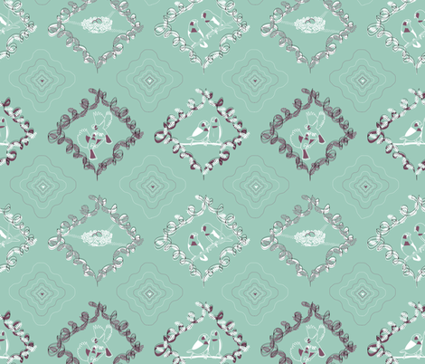 A Love Story fabric by drizzlydaydesignco on Spoonflower - custom fabric