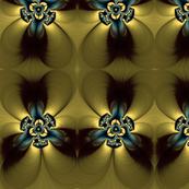 golden feather flower