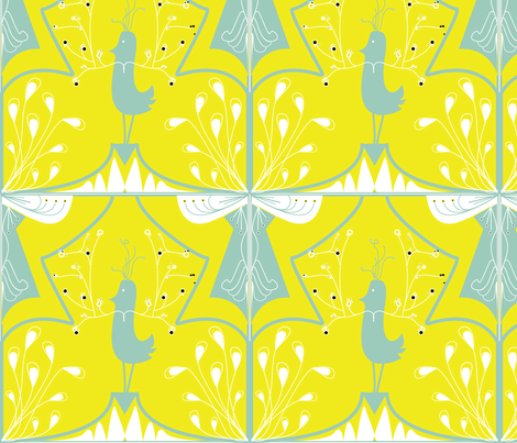birdpatternamusa fabric by azaliamusa on Spoonflower - custom fabric