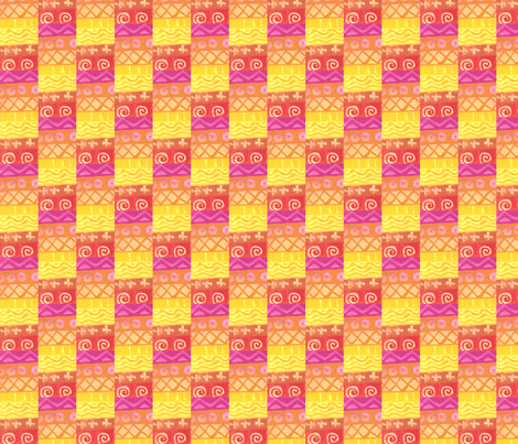 Cheery Check fabric by not-enough-time on Spoonflower - custom fabric