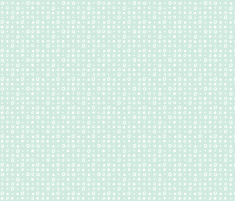 Blue and White dots fabric by gsonge on Spoonflower - custom fabric