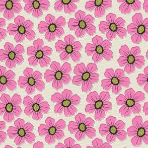retro blossom pink