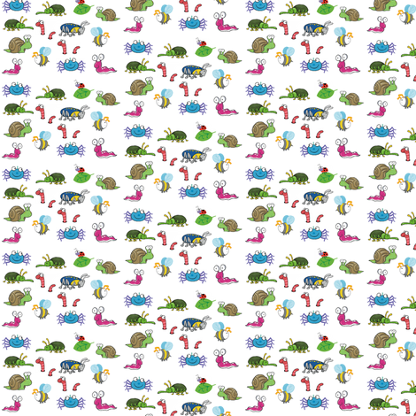 bugs fabric by barakatblessings on Spoonflower - custom fabric