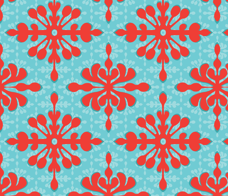 Hawaiian Diamonds fabric by wildnotions on Spoonflower - custom fabric
