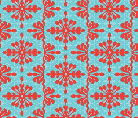 Hawaiian Getaway fabric by wildnotions on Spoonflower - custom fabric