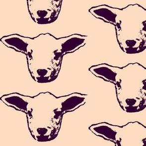 So Many Lambs- maroon