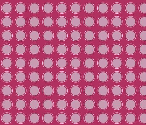 Purple dot fabric by emilyb123 on Spoonflower - custom fabric