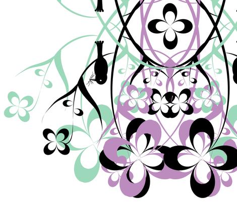 bird fabric by worldwidedeb on Spoonflower - custom fabric