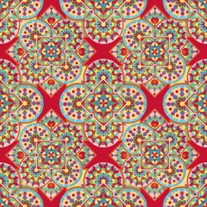 Kaleidoscope geometric by Patricia Shea
