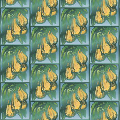 Pears © Gingezel™ fabric by gingezel on Spoonflower - custom fabric